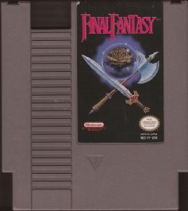Final Fantasy 1 NES NTSC Modul
