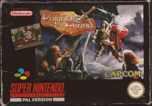 Knights of the Ring OVP SNES PAL