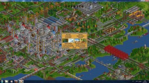 OpenTTD - Screenshot 1