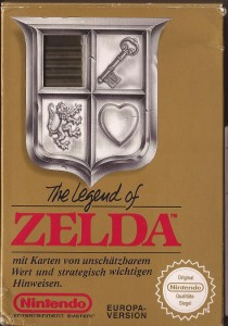 The Legend of Zelda OVP NES PAL