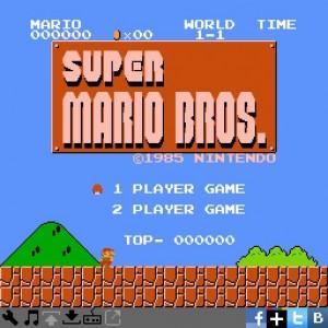 Super Mario Bros NESBOX