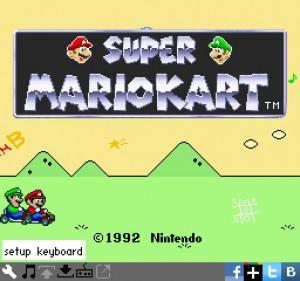 Super Mario Kart SNESBOX