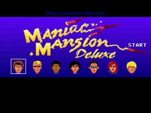 Maniac Mansion Deluxe Screenshot 1