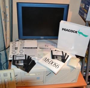 Retro-PC mit DOS und Win98SE