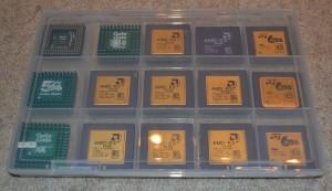 Sortimentsboxen CPUs AMD und Cyrix