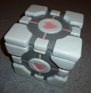 Companion Cube Keksdose